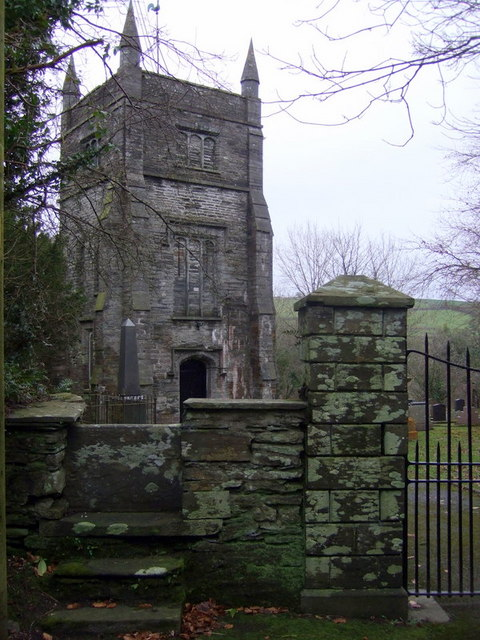 St Brynach's tower and stile
