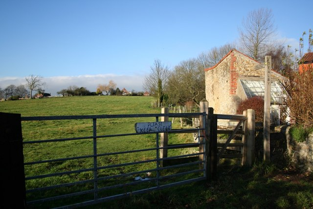 Footpath to Rasen Road