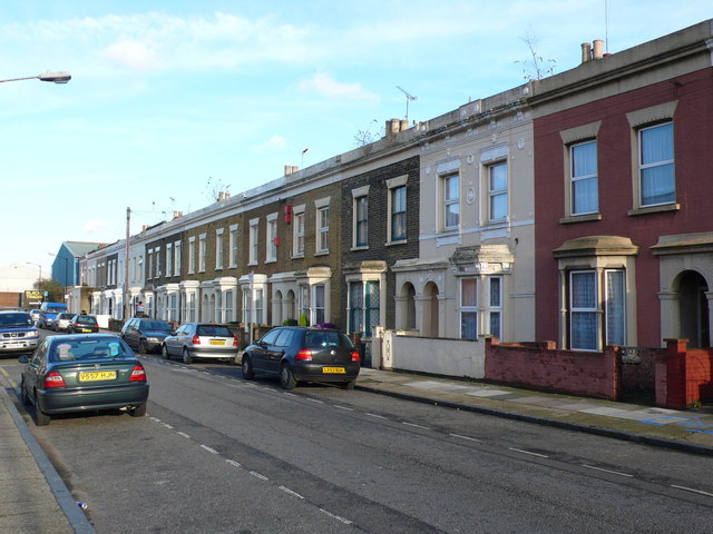 Victorian Terraced Houses, East London