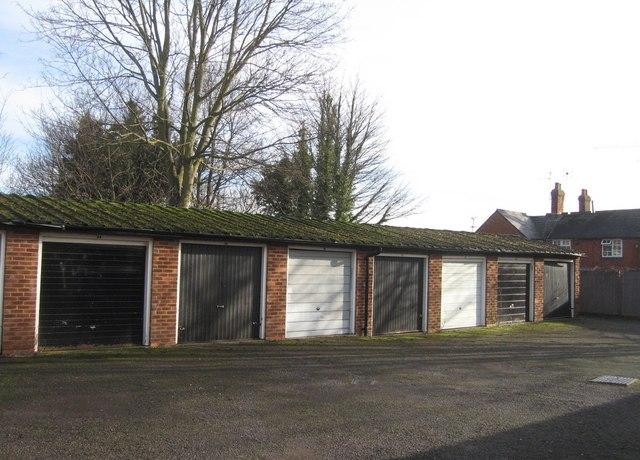 Garages behind Great Western Cottages