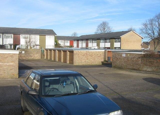 Millard Road garages