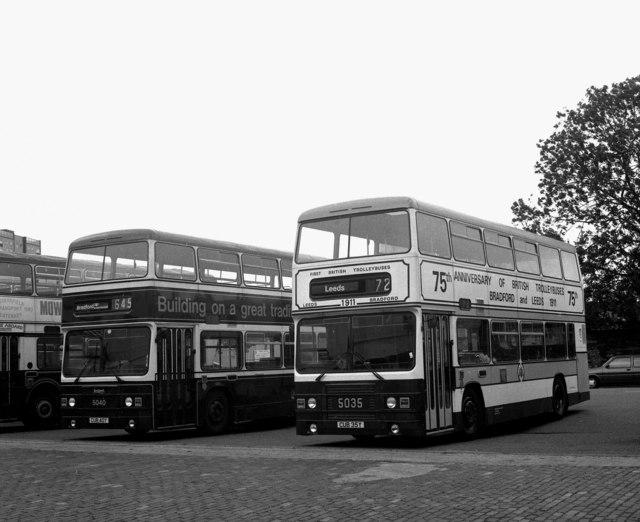 Ludlam Street bus depot, Bradford