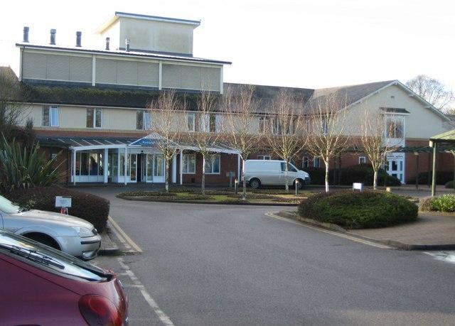 Entrance to Parklands Hospital