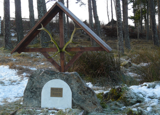 Grave of Count Ludwig von Saurma Noym, Sallachy