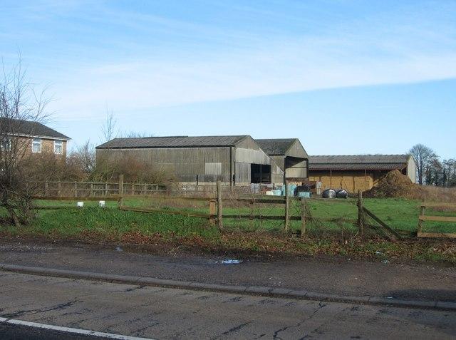 Hay barns on Greatfield Farm