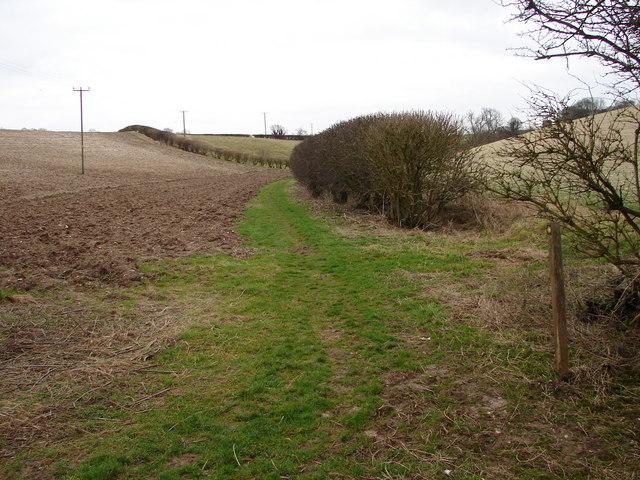 Heading Towards Welton le Wold