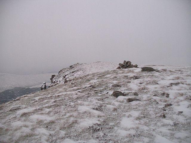 Summit, Stob a' Ghrianain