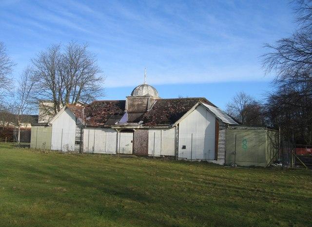 Former sports pavilion