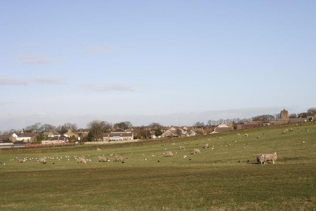 Worsthorne village