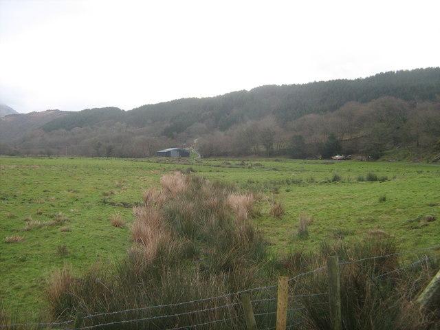 Farmland near Ty Mawr farm
