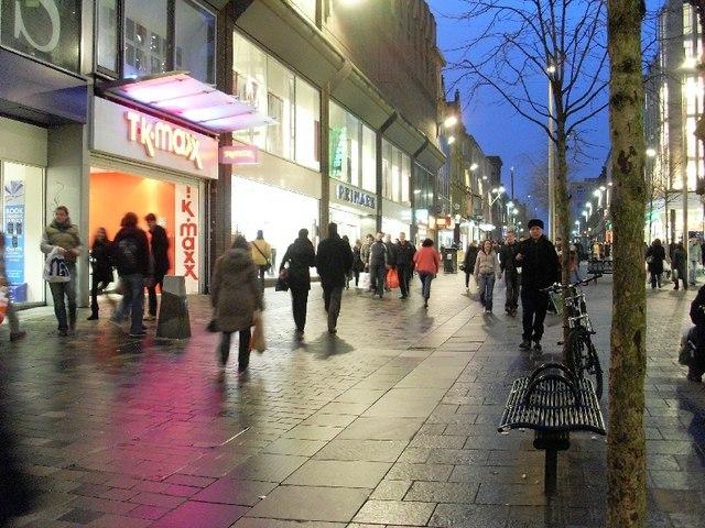 View of Sauchiehall Street