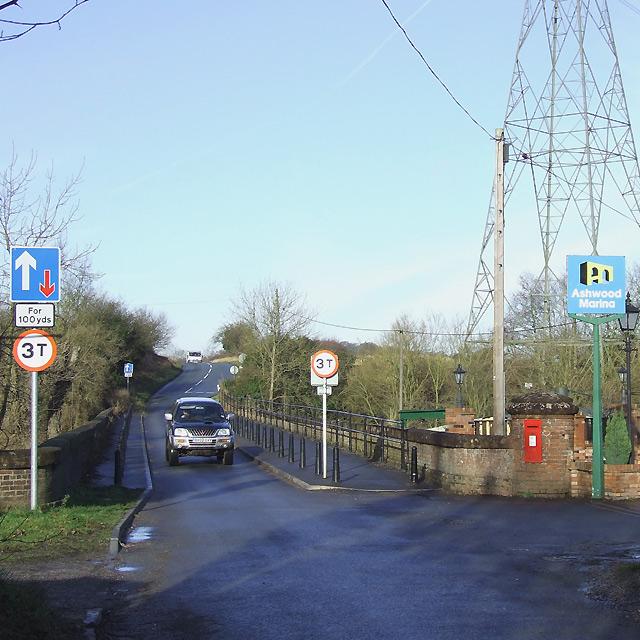 Viaduct across Ashwood Canal Basin, Staffordshire