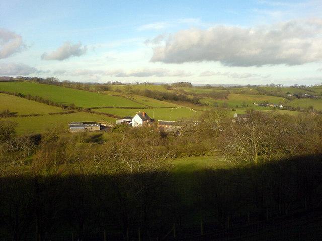 Maesgwyn Uchaf Farm