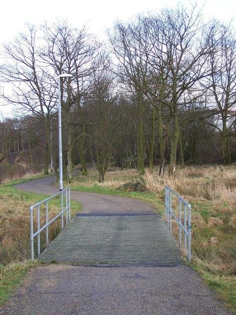 Footpath, Old Brickworks Nature Reserve