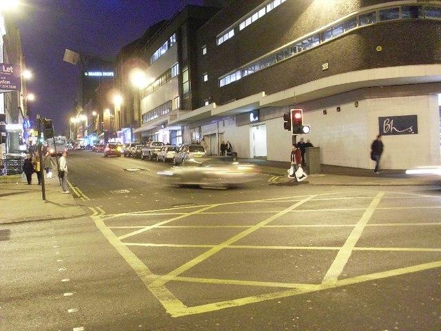 Bath Street at Renfield Street