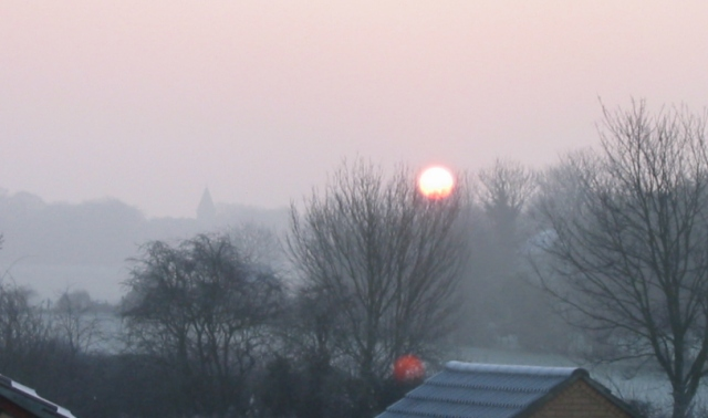Fairfield sunrise