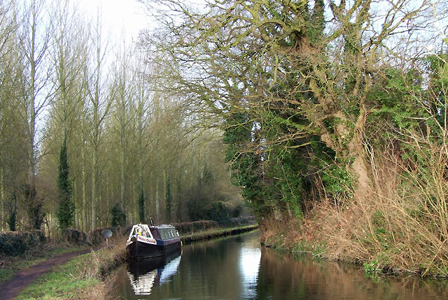 Staffordshire and Worcestershire Canal near Greensforge
