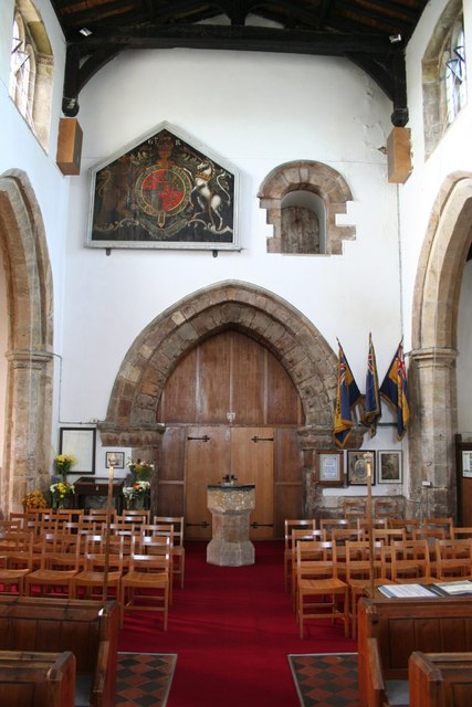 All Saints' tower arch