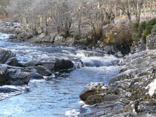 Falls on the River Cassley, Achness