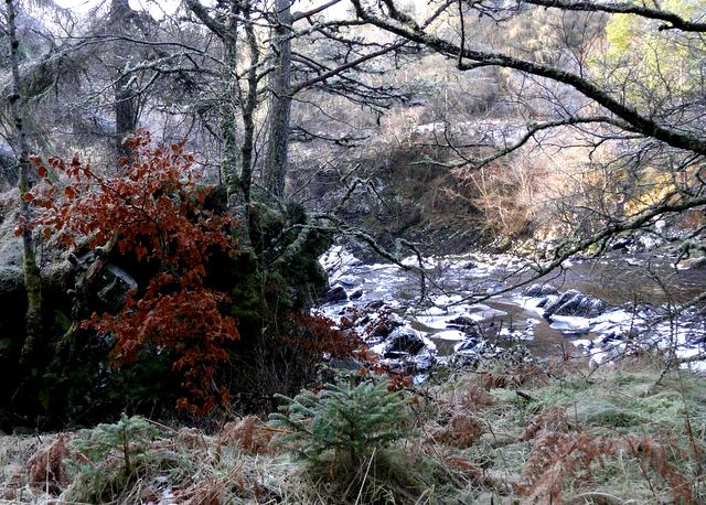 River Cassley, Achness