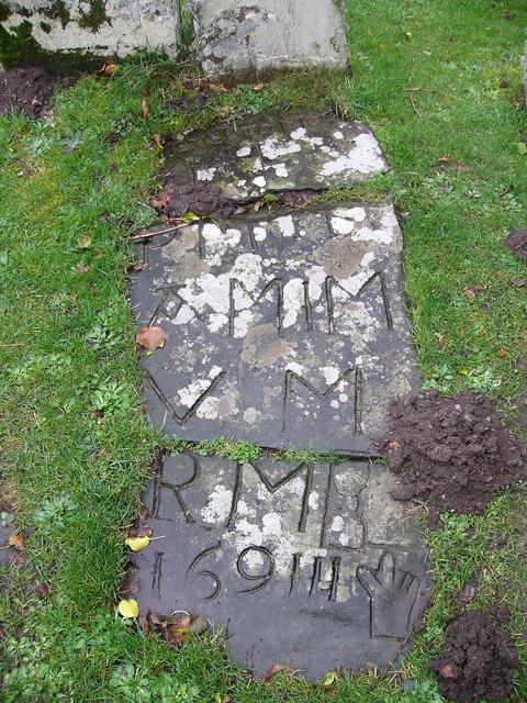 Gravestone at Kirkmaiden