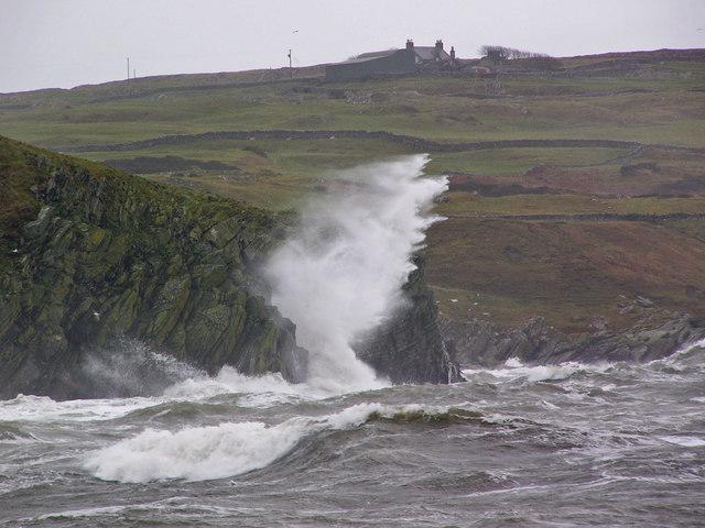 Cliffs at Back Bay