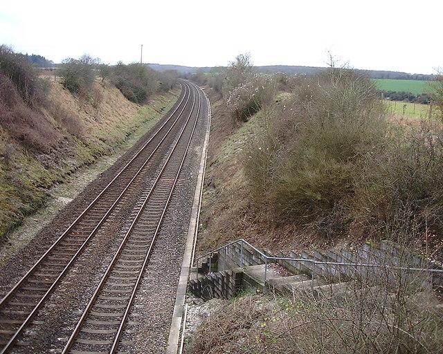 Monxton - Railway Line