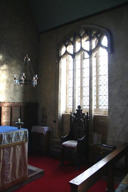 St.Mary's church, chancel window