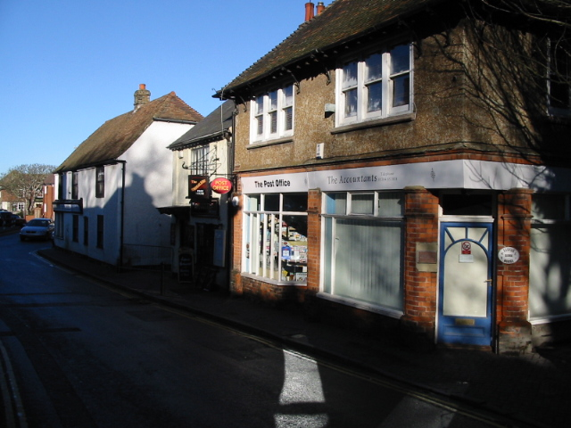 The High Street, St Margaret's at Cliffe