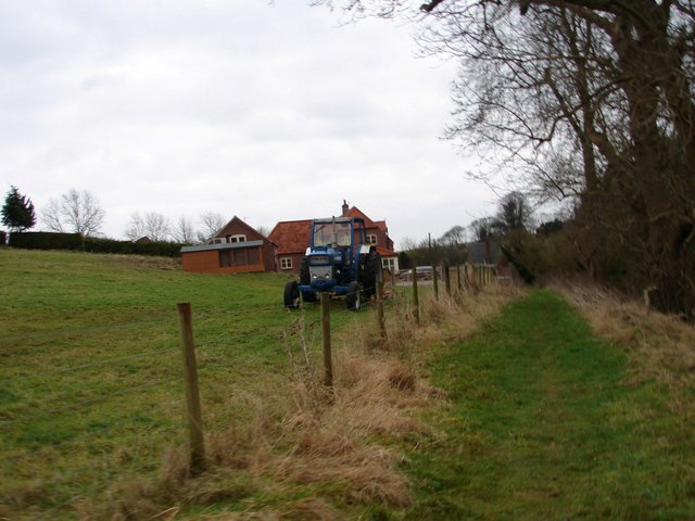 Public Footpath at Welton le Wold