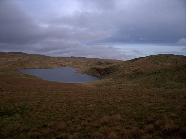 Eastern branch of Llyn Teifi