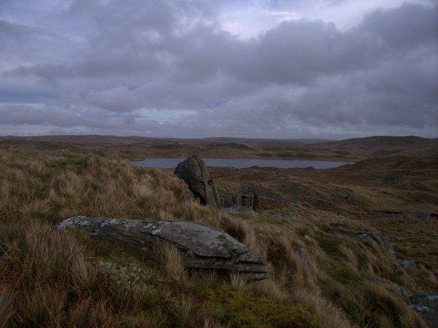Rocks on Graig Felen