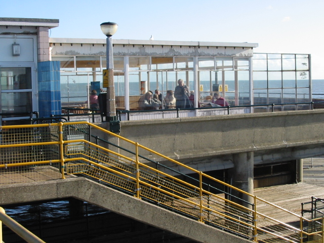 Part of the Goodwins Restaurant on Deal pier