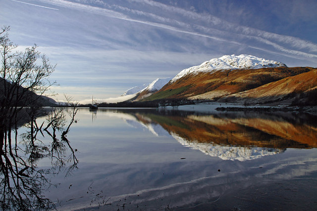 Reflections in Loch Lochy