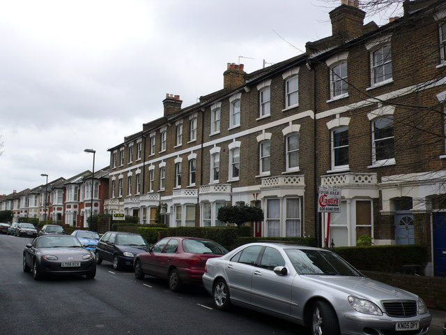 Victorian Terraced Houses North London