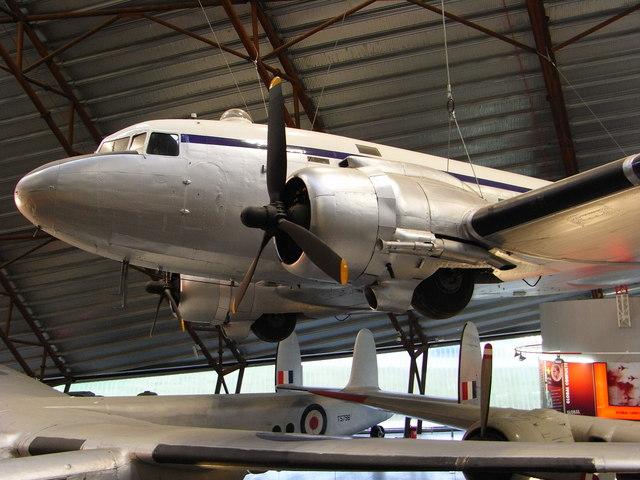 "DC3 ""Dakota"", Cold War Museum, Cosford"