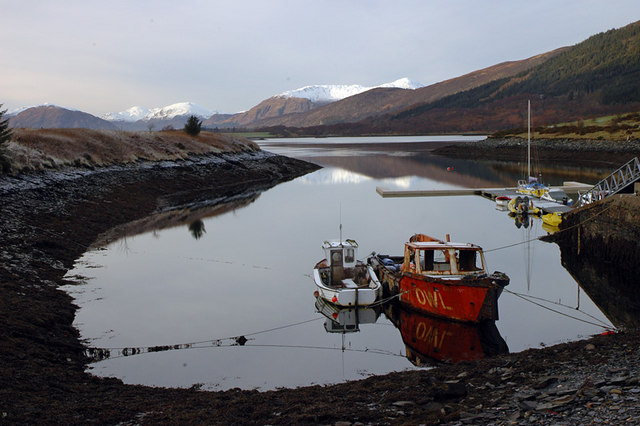 Boats and Loch Leven
