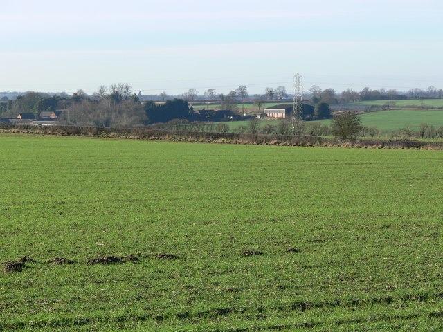 View towards Copston Magna