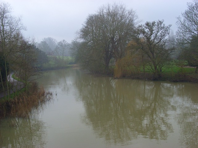 The River Thames, Sonning