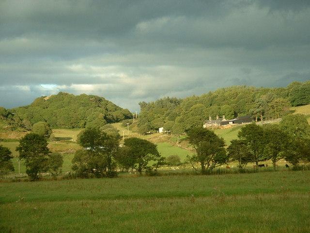 Farmland near Ty-obry