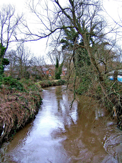 River Stour, Mill Road, looking north