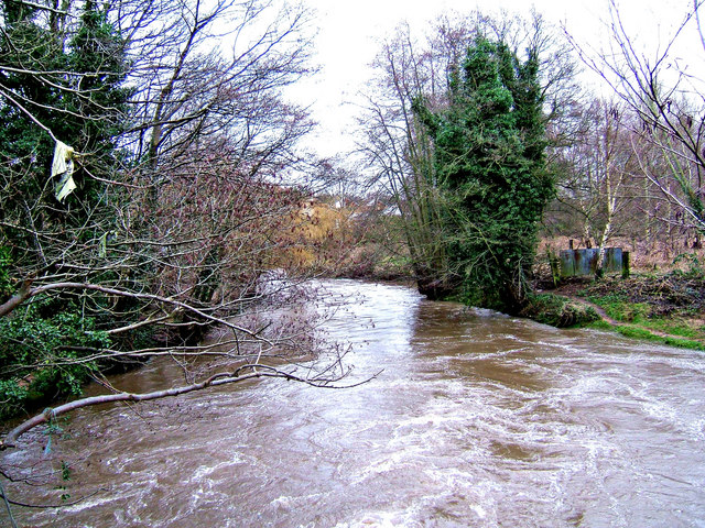 River Stour, Mill Road, looking south