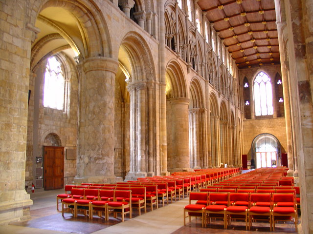 Selby Abbey, Nave