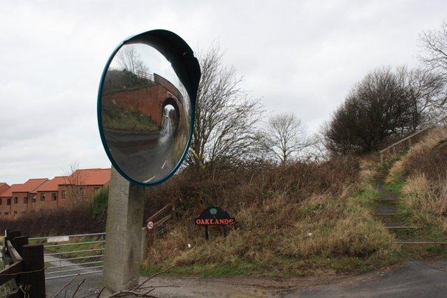 Road Bend, Near Crowdy Hall Farm