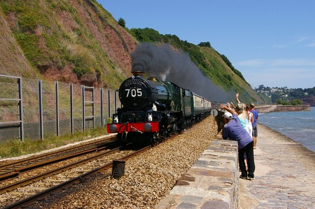 6024 King Edward 1 heads the Torbay Express