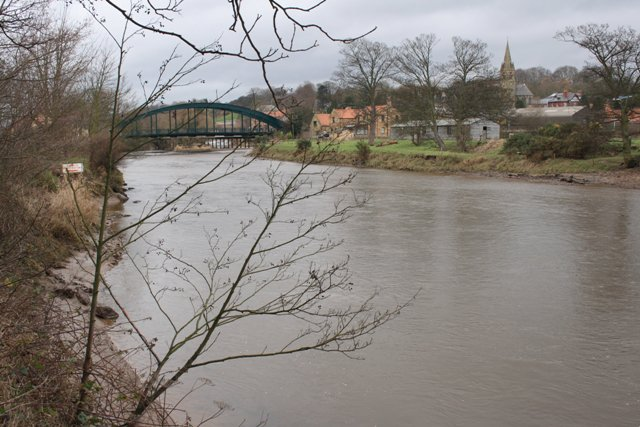 River Esk and Ruswarp Bridge
