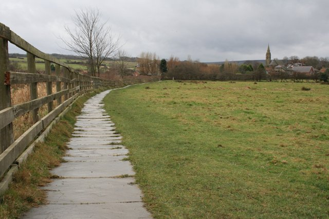 Footpath to Ruswarp