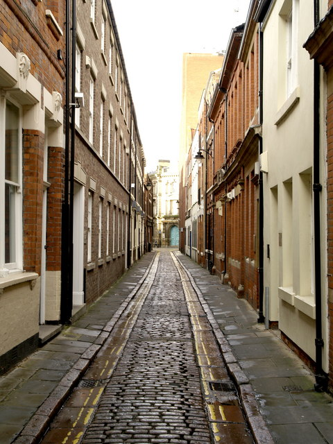 Bishop Lane, the Old Town, Hull