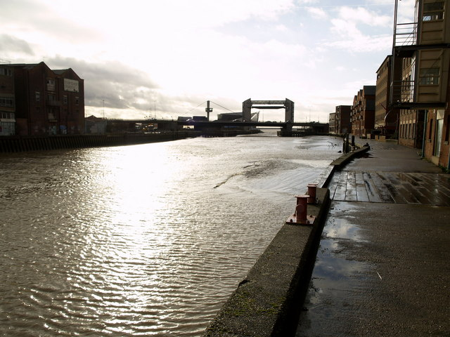 The River Hull in Hull