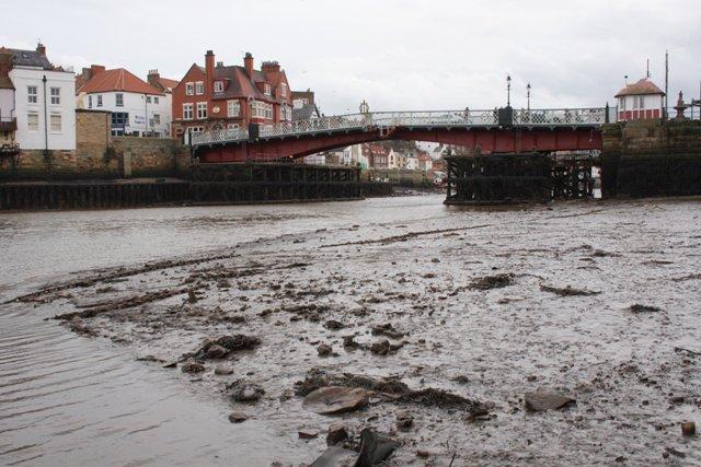 The Swing Bridge Over the Esk